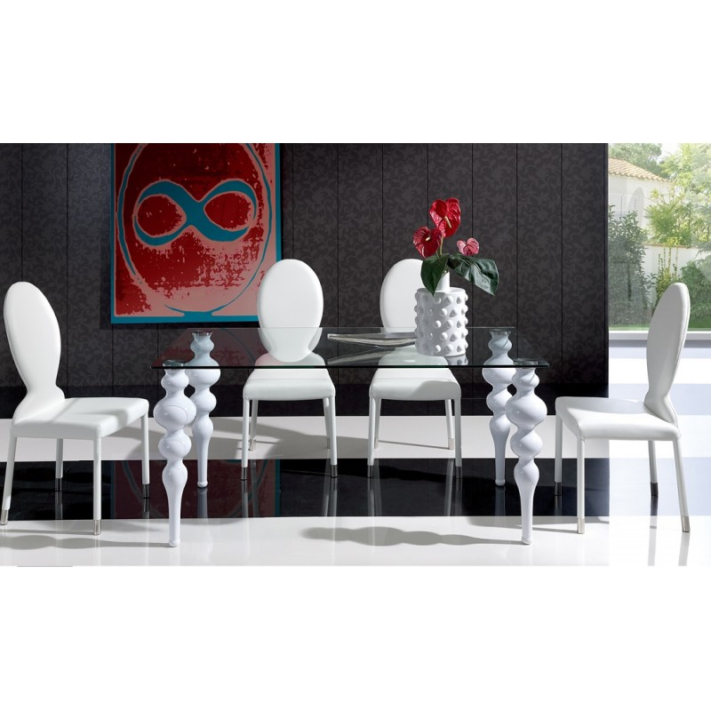 ESF - 767 table and 1001 chair